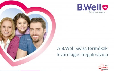B.Well Swiss termékek Magyarországon!